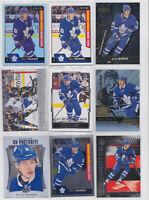 Mitch Marner 9 Card Rookie RC Lot O-Pee-Chee Platinum Flair Toronto Maple Leafs