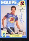 LAURENT MADOUAS cyclisme cp cycling signée Z PEUGEOT 89
