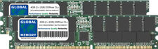 4GB 2x2GB DDR 266/333/400MHz 184-PIN ECC REGISTERED RDIMM SERVER MEMORY RAM KIT