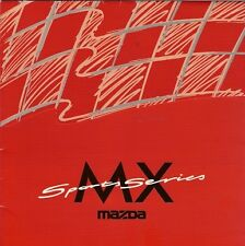 Mazda MX-5 MX-3 MX-6 1997 UK Market Mailer Sales Brochure