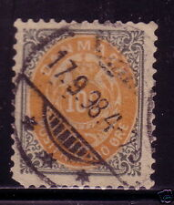 Denmark 52 Used ! Nice Cancel ! scv $ 23 ! see pic !