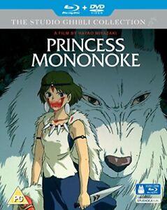 Princess Mononoke [Blu-ray] [DVD][Region 2]