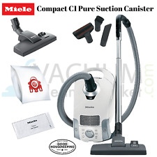 Miele Pure Suction C1 Compact Canister Vacuum Cleaner - Great On Hard Flooring