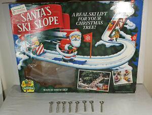 Santa's Ski Slope Mr Christmas replacement thumbscrews Lot of 8
