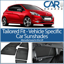 Peugeot 208 3dr 2012 On CAR WINDOW SUN SHADE BABY SEAT CHILD BOOSTER BLIND UV