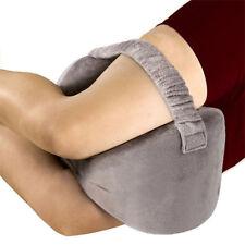 Gray Leg Knee Memory Foam Pillows for Back, Pain Relief Sleeper Gravida Pregnant