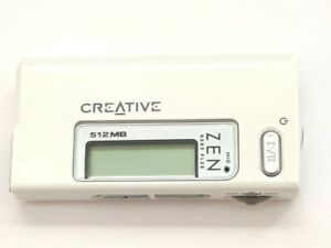 Creative ZEN Nano Plus 512MB FM Radio Audio Digital MP3 Media Player White