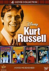 DISNEY KURT RUSSELL: 4 -MOVIE COLLECTION (4PC) NEW DVD