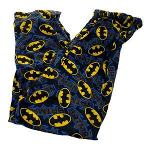 Batman Spot Symboles Grand Polaire Pyjama Bas