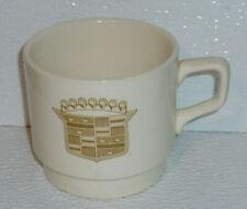 "Cadillac Mug Cup Vintage Logo Advertising Coffee Tea 2.75"""