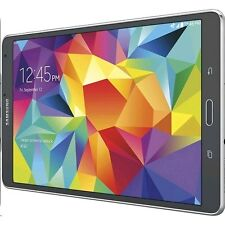 """Samsung Galaxy Tab S SM-T707A 8.4"""" Black 16GB Unlocked/GSM Only Excellent Cond"""