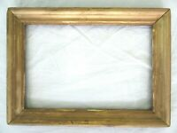 """Antique Fits 6 X 9"""" Gold Gilt Picture Frame Wood Gesso Fine Art COUNTRY"""