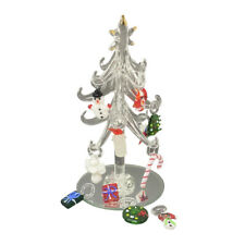 Artificial Christmas Tree, Hang Lights, Decoration with Stand. Accessories