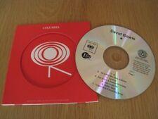 David Bowie Blackstar CD ALBUM Promo / Demo CD MEGGA RARE!