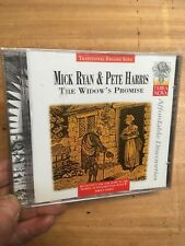 Mick Ryan & Pete Harris-The Widow's Promise CD New+Sealed Terra Nova Folk OOP