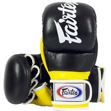Fairtex FGV18 Super Sparring Grappling Gloves - Black/Yellow