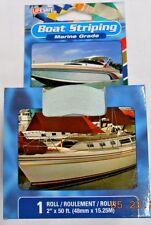 "Incom RE164MB Marine Grade Boat Striping 2"" x 50' ft. Metallic Blue"