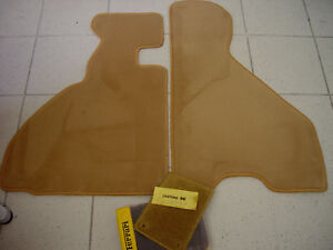 Classic Brown Velours Floormats for Ferrari 348 TB/TS 1989-1994