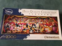 High quality Collection Disney 1000 Piece Clementoni Panorama Jigsaw Puzzle