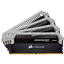 CORSAIR DOMINATOR PLATINUM 32GB (4 x 8GB) DDR4 DRAM 2400MHz C14 Memory Kit