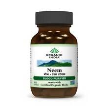 Neem pack of 60 capsules of organic india