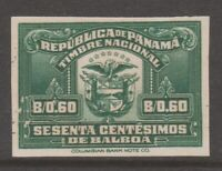 Panama revenue Fiscal stamp mint NO gum 9-28-20-