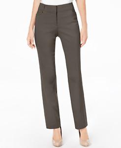 JM Collection Curvy-Fit Slim-Leg Trousers, US16 UK18/20 regular rrp $49.50