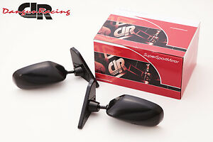 [JDM] GT2 Mirror black MT LH For 94-98 Ford Mustang