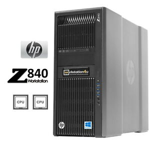 24-Core HP Z840 Workstation 2x Intel Xeon E5-2678v3 ram SSD amd Rx RTX quadro Bw