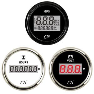 CN Anzeigeinstrumente Digital Serie 52mm Boot GPS Voltmeter Amperemeter