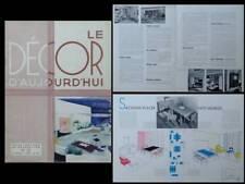 DECOR D'AUJOURD'HUI n°27 1938 RENE GABRIEL, ROYERE, KOHLMANN, CHAREAU, HERBST