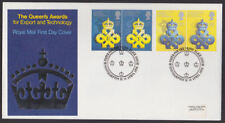 Great Britain 1990 FDC Cover Queen's Export Technology Northampton Penny Black