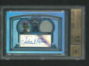 2005 Bowman Sterling Andrew McCutchen Pirates RC Refractor Auto 3/199 BGS 9.5/10