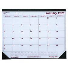 Brownline Monthly Desk Pad Calendar Chipboard 22 X 17 2021