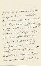 Alfred de VIGNY  Lettre autographe signée sur ses oeuvres complètes. 1835.