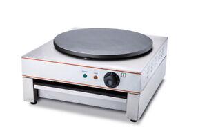 Single Hot Plate Crepe Maker Pancake Machine Commercial Electric 40cm Diameter