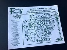 SANTAS VILLAGE Skyforest CA map RARE