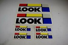 Look Frame Decals Stickers Road Racing Bike Vintage 90s New Old Stock