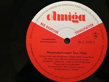 LP AMIGA Neuerscheinungen Mai 1966 *Sp.U.0333* AMIGA DDR * TOP!