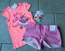 Size 5T,5 years outfit Gymboree,Bright and Beachy,NWT,top,shorts,barrettes,3 pc.