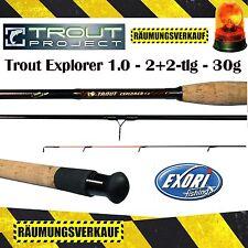 Exori Trout Project Explorer 1.0 Forellenrute Sbirolino Tremarella 3,30m 2+2 30g
