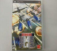 PSP Strikers 1945 Plus Portable Japan Import