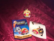 Angry Birds Star Wars Luke Skywalker Percha Clave Broche Con Pegatinas & prospecto