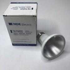 NDR Electric - PAR20 LED BULB 120 V, 500 LM, 3000K