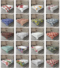 Ambesonne Romantic Floral Flat Sheet Top Sheet Decorative Bedding 6 Sizes