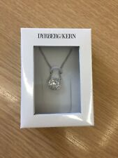 Dyrberg/Kern Sterling Silver Necklace with Swarovski Crystals In Box RRP £49.99