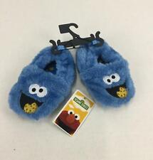 Sesame Street Cookie Monster Toddler Slipper Size 5 Blue NEW Soft