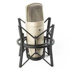 Behringer C1 Studiomikrofon/Kondensator Mikrofon XLR mit Mikrofonspinne