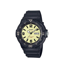 Casio MRW-200H-5BVDF Analog Black Resin Strap Watch for Men