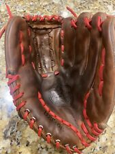 "VINTAGE CUSTOM A2000 XL WILSON Baseball Glove Red Laces Made USA, RHT, 12.5"" EUC"